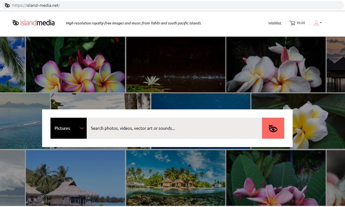 Island Media : une nouvelle banque d'images polynésiennes qui va faire du bruit