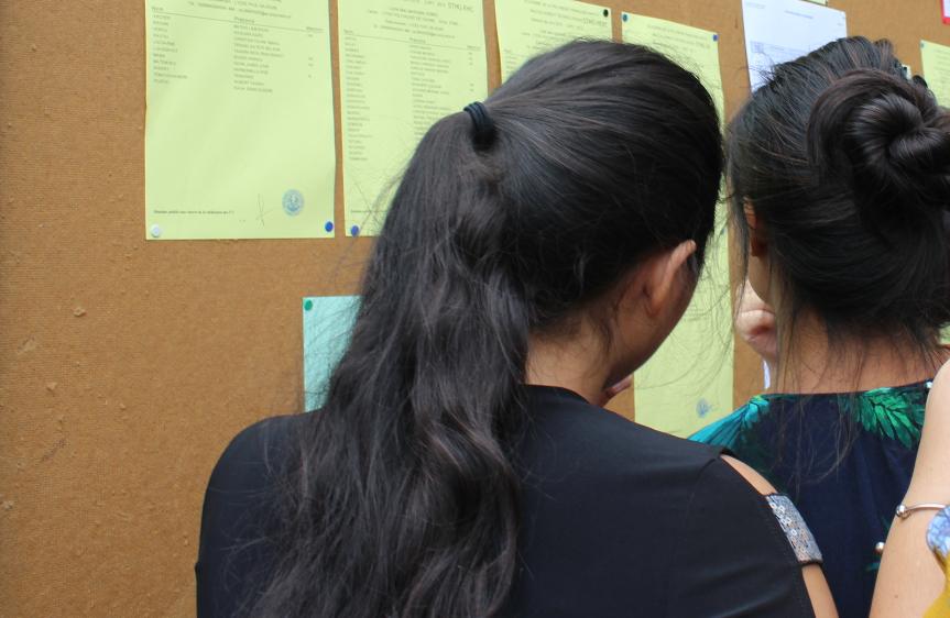 Les candidats admis au Brevet polynésien des métiers d'art