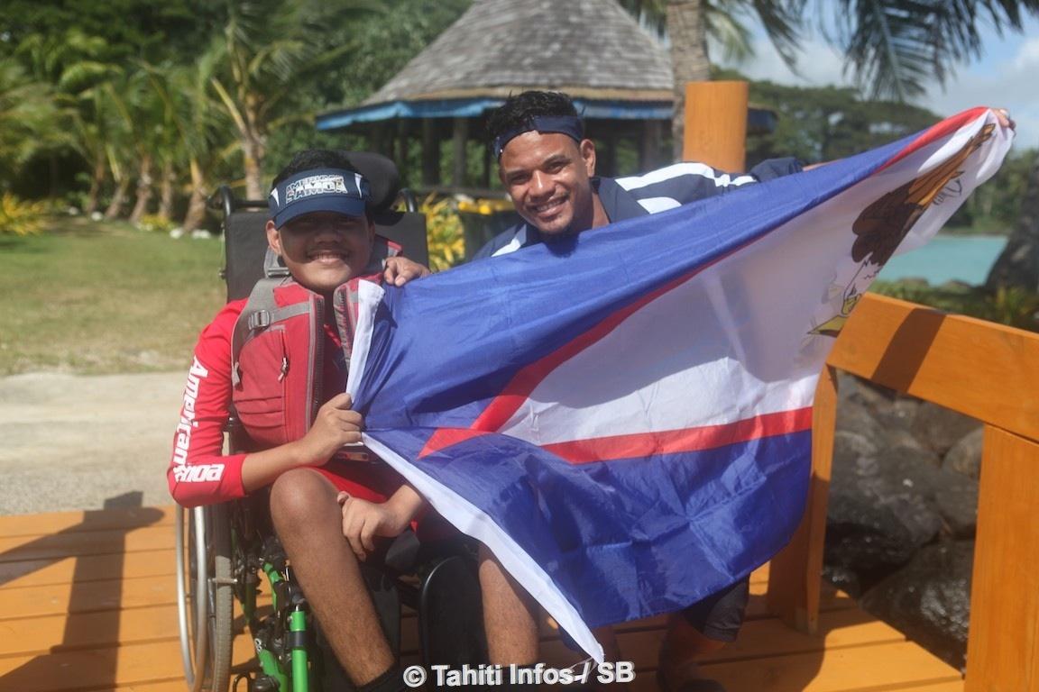 Du handisport était également proposé mais Tahiti n'avait pas de concurrent