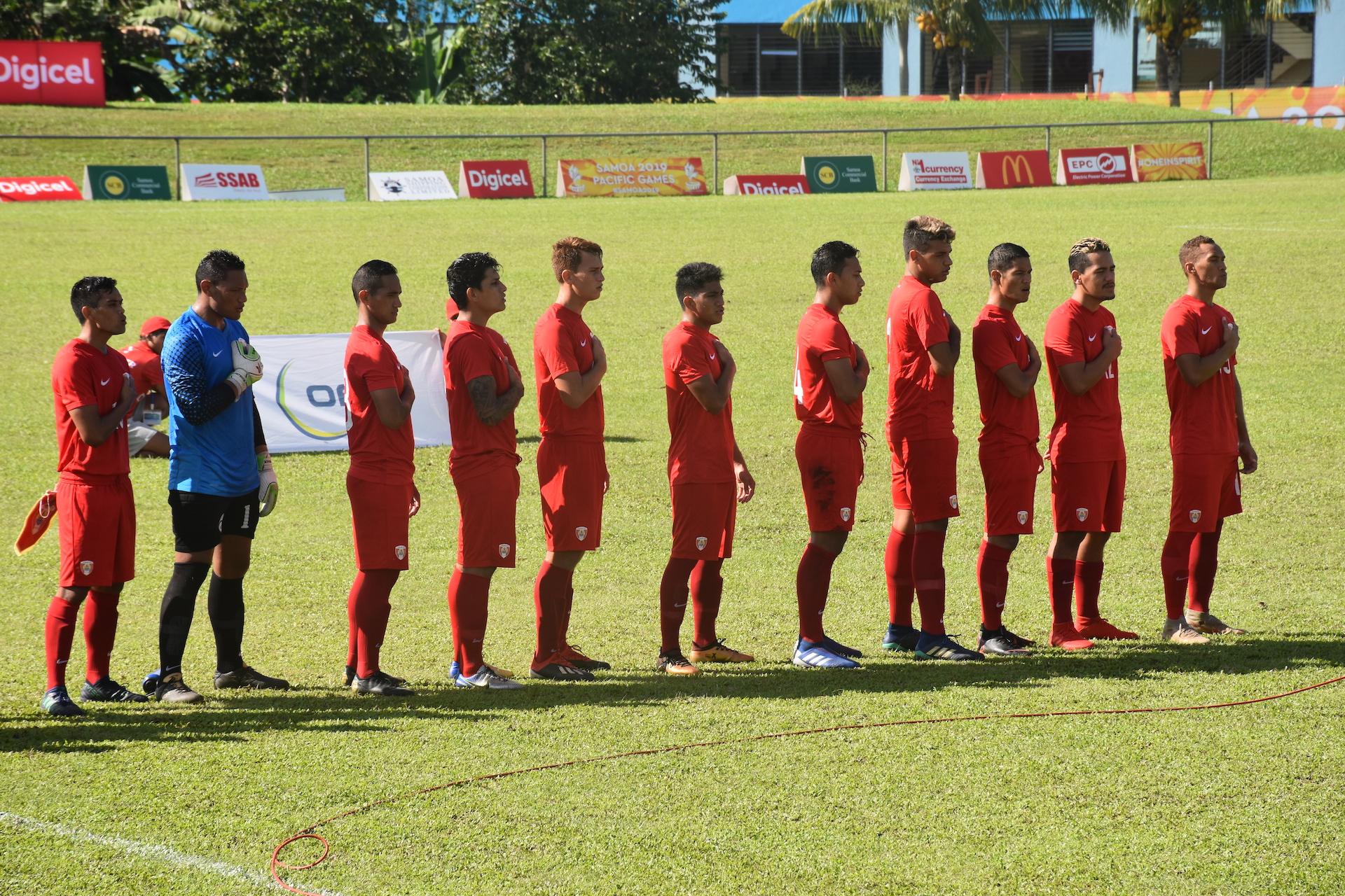 Les Toa Aito s'imposent 3-0 face aux Îles Salomon