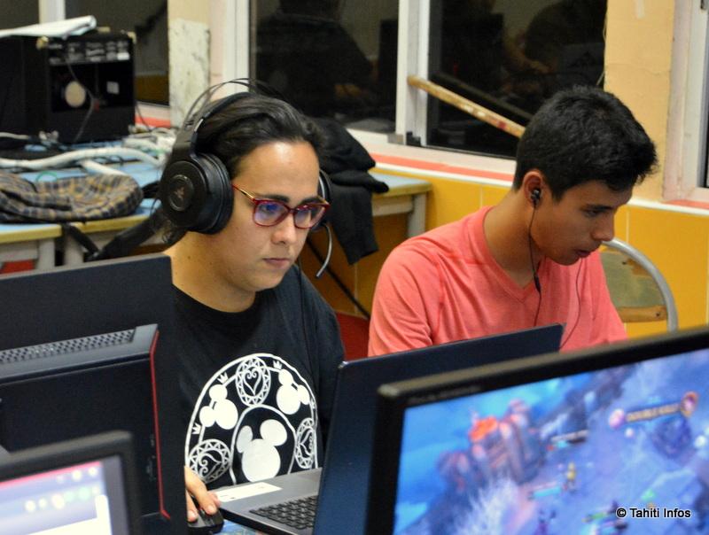 Les gamers de Tahiti perpétuent la tradition des LAN