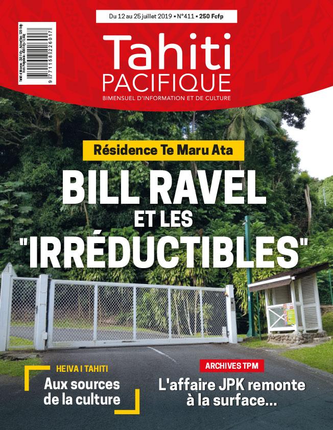 À la Une de Tahiti Pacifique, vendredi 12 juillet