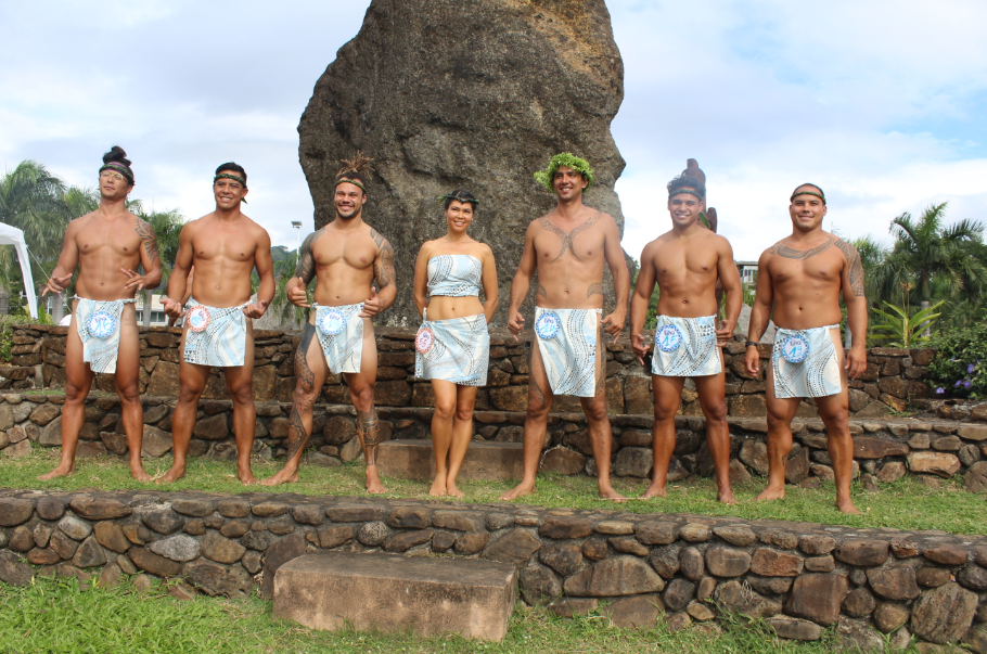 La Team Hawaii a fait le show.