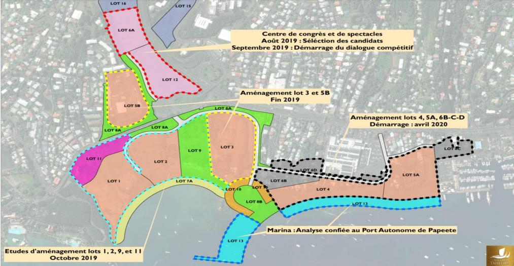 L'aménagement général de la zone doit commencer à la fin de l'année.