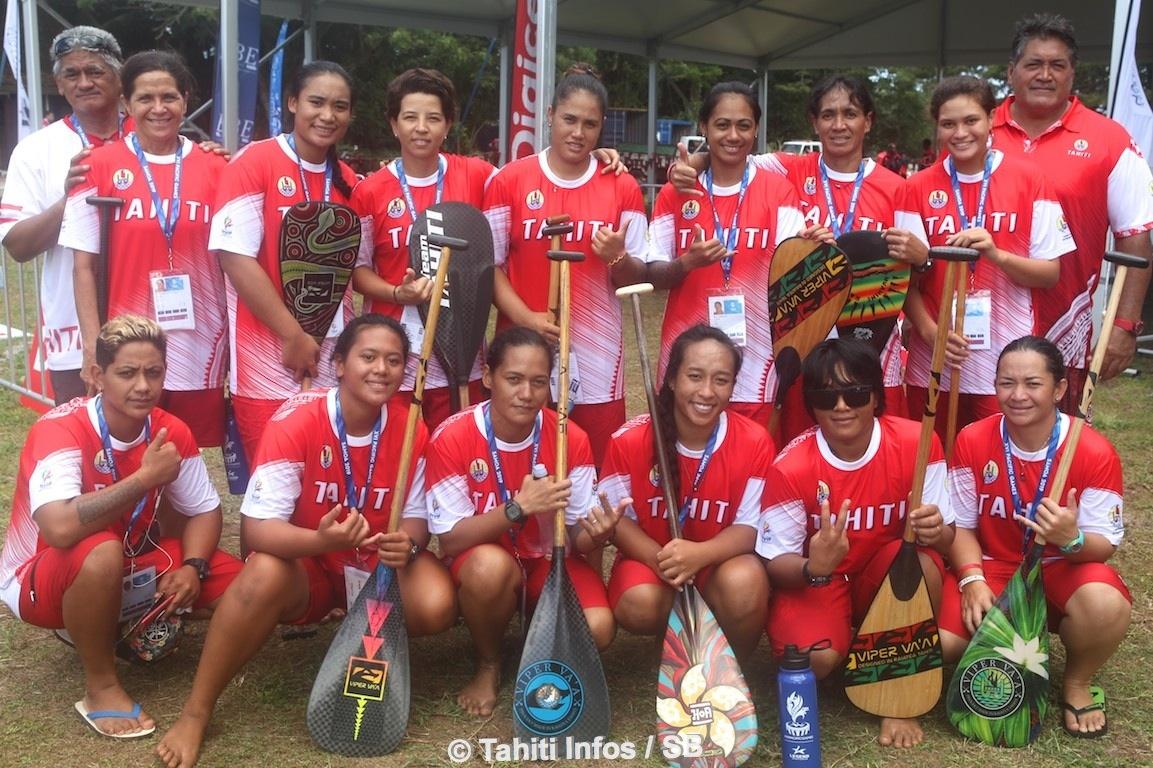 La sélection de Tahiti féminine