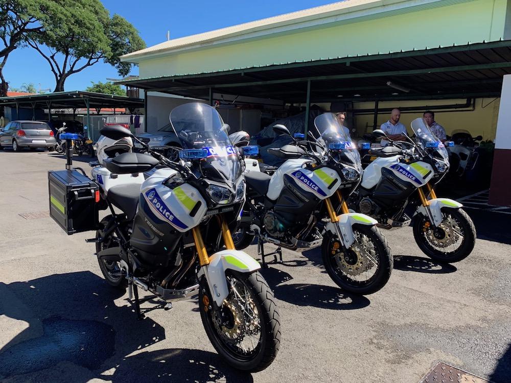 Des motos flambant neuves pour la FMU