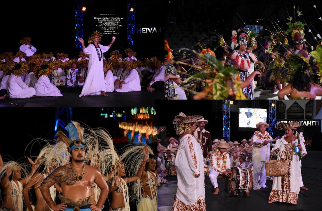 Heiva i Tahiti : retour en images sur la soirée du 14 juillet