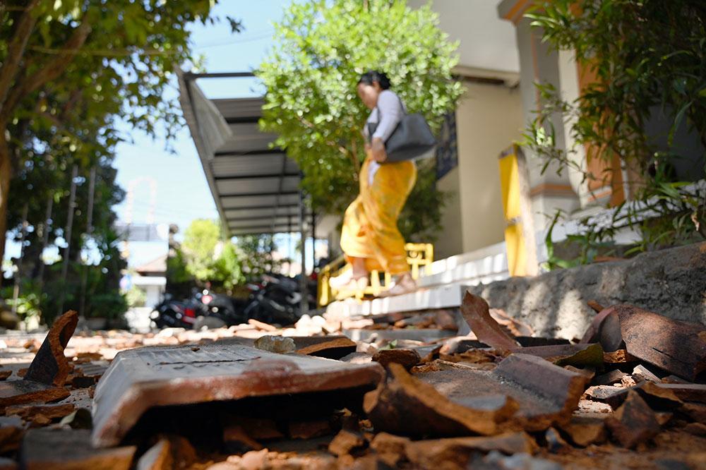 Un séisme provoque un début de panique à Bali et des dégâts mineurs