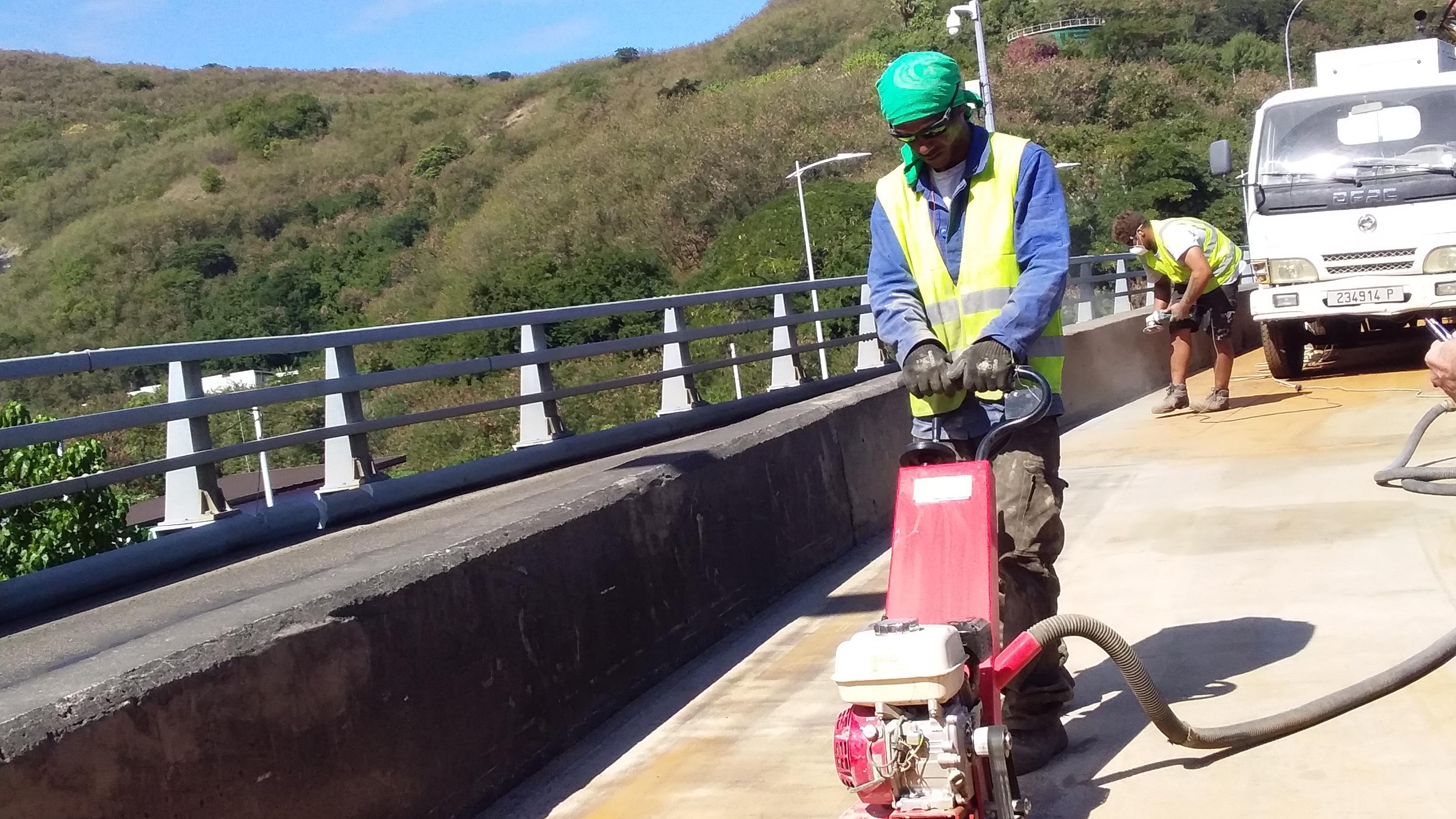 Des travaux sur le viaduc de la Punaruu jusqu'au 11 août