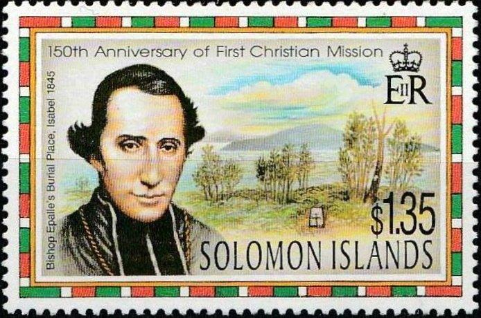 Les îles Salomon ont rendu un hommage philatélique à celui qui fut leur premier évêque catholique.