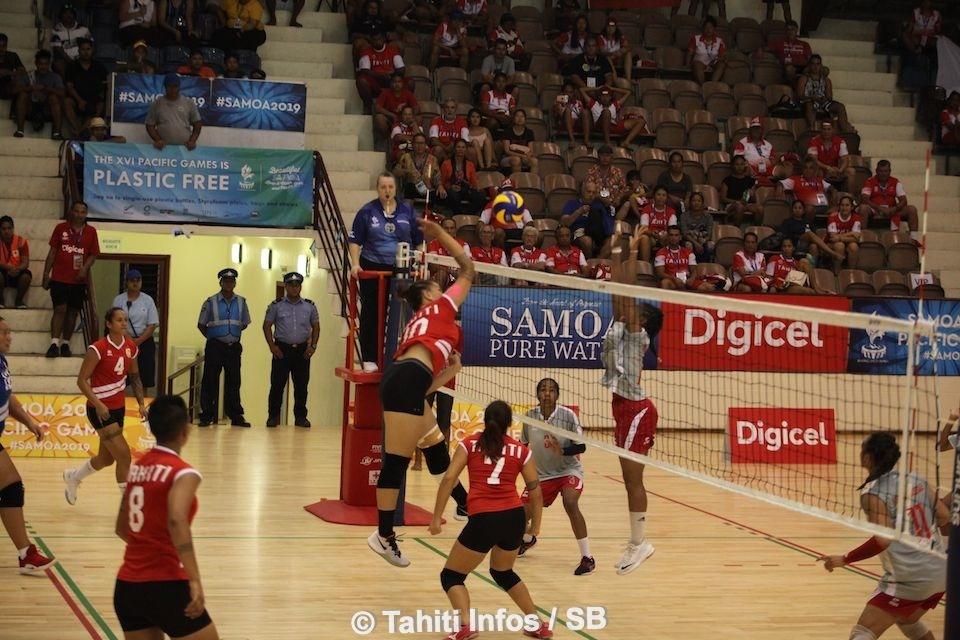 Les volleyeuses tahitiennes reviendront à Tahiti avec la médaille d'argent