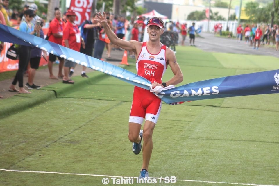 5 médailles d'or sur six possibles en triathlon