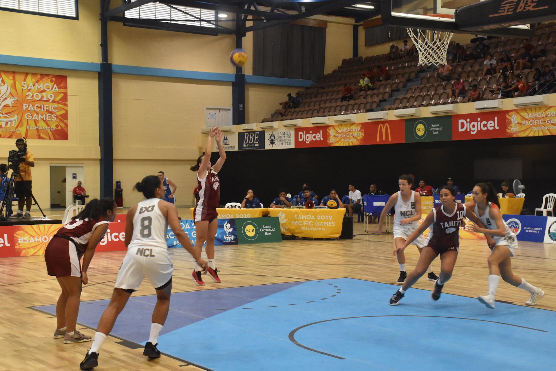 Dans le match pour la 3e place les Tahitiennes ont dominé les Calédoniennes sur le score de 16-8.