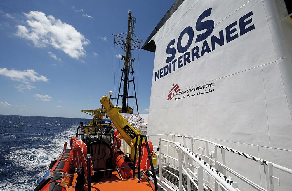 Migrants: le navire de secours de SOS-Méditerranée et MSF opérationnel en août
