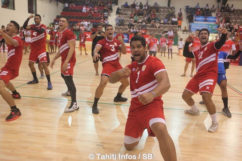 Une des plus belles médailles d'or pour le volley tahiten
