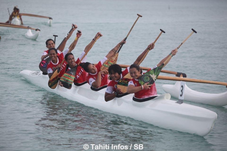 La sélection de Tahiti de va'a a fait très fort