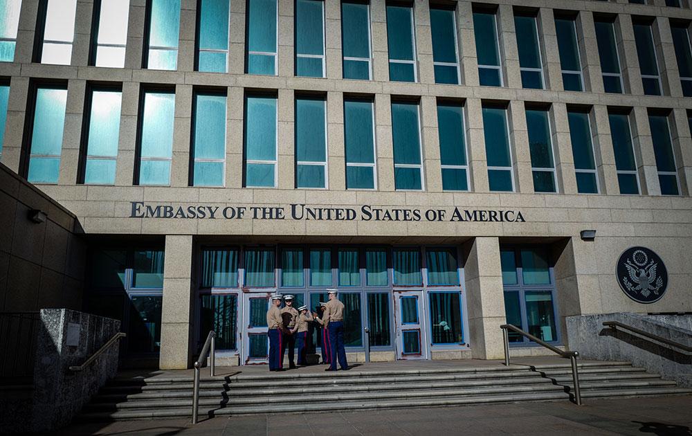 """Les cerveaux des diplomates américains de Cuba """"ont subi quelque chose"""""""
