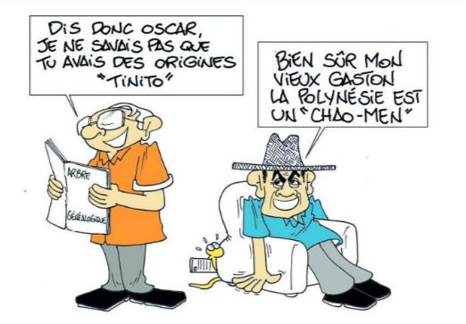 """""""Chao-Men généalogique"""" par Munoz"""