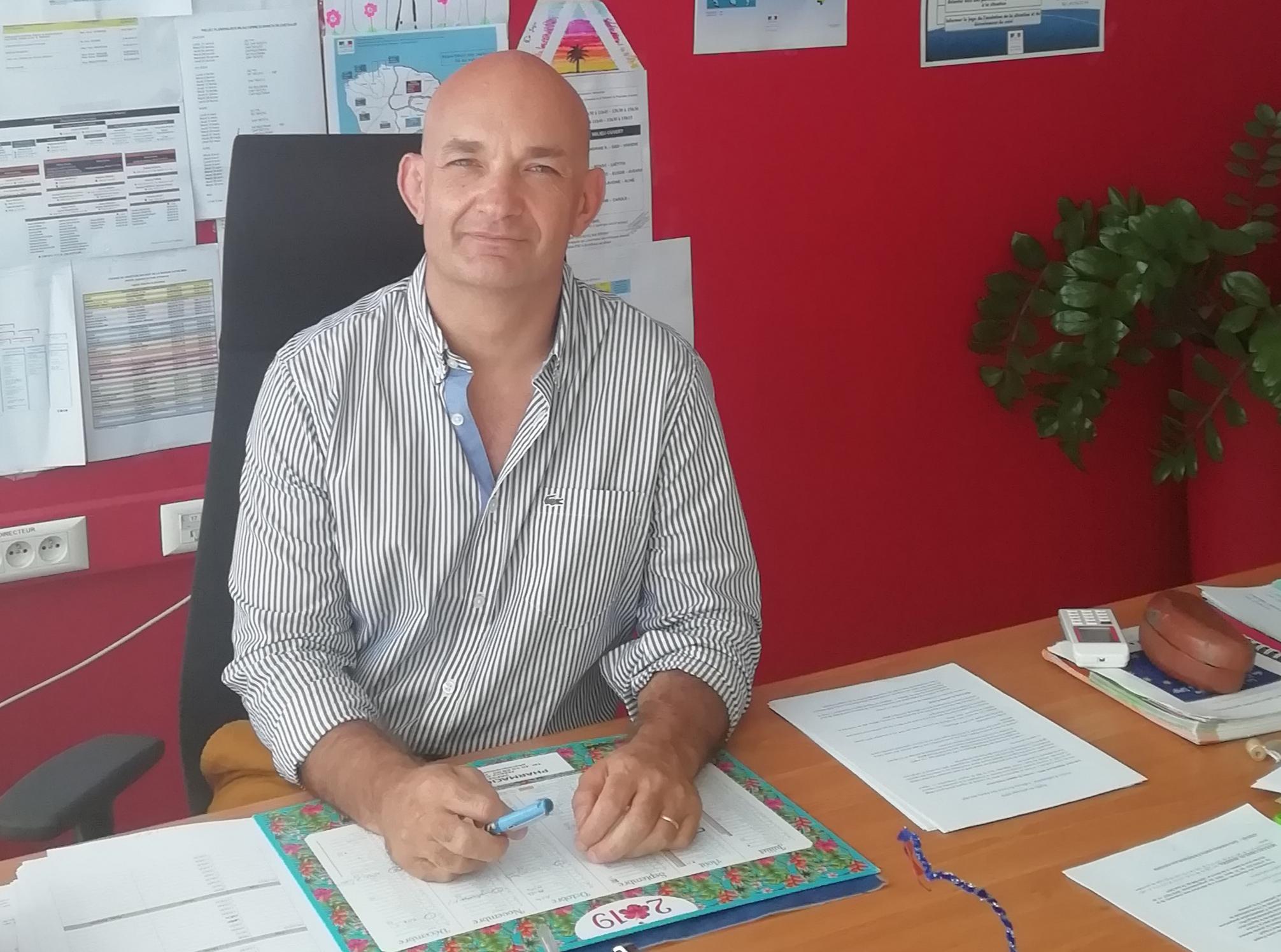 Lionel Lecomte, directeur du SPIP de Polynésie française.