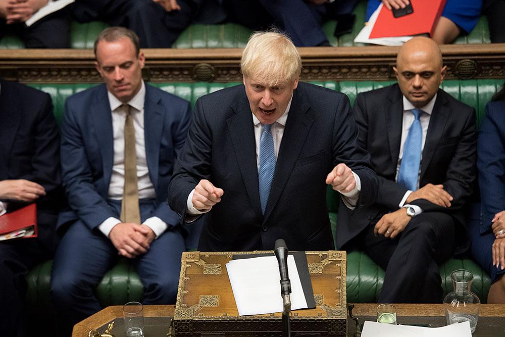 Boris Johnson réclame un nouvel accord de divorce à l'UE