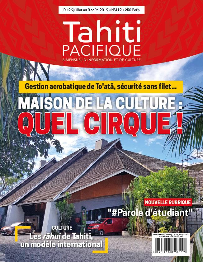 À la Une de Tahiti Pacifique, vendredi 26 juillet