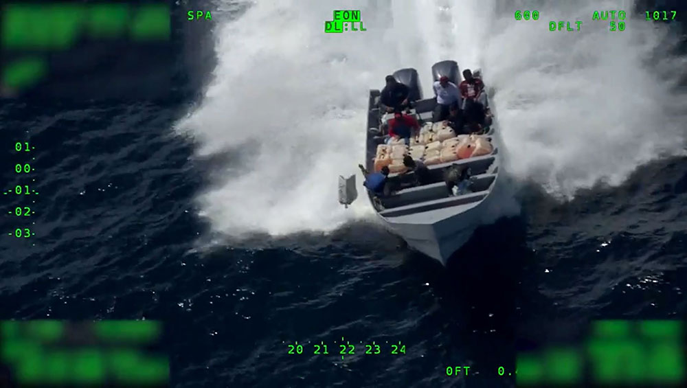 USA: 13 tonnes de cocaïne saisies lors d'opérations navales
