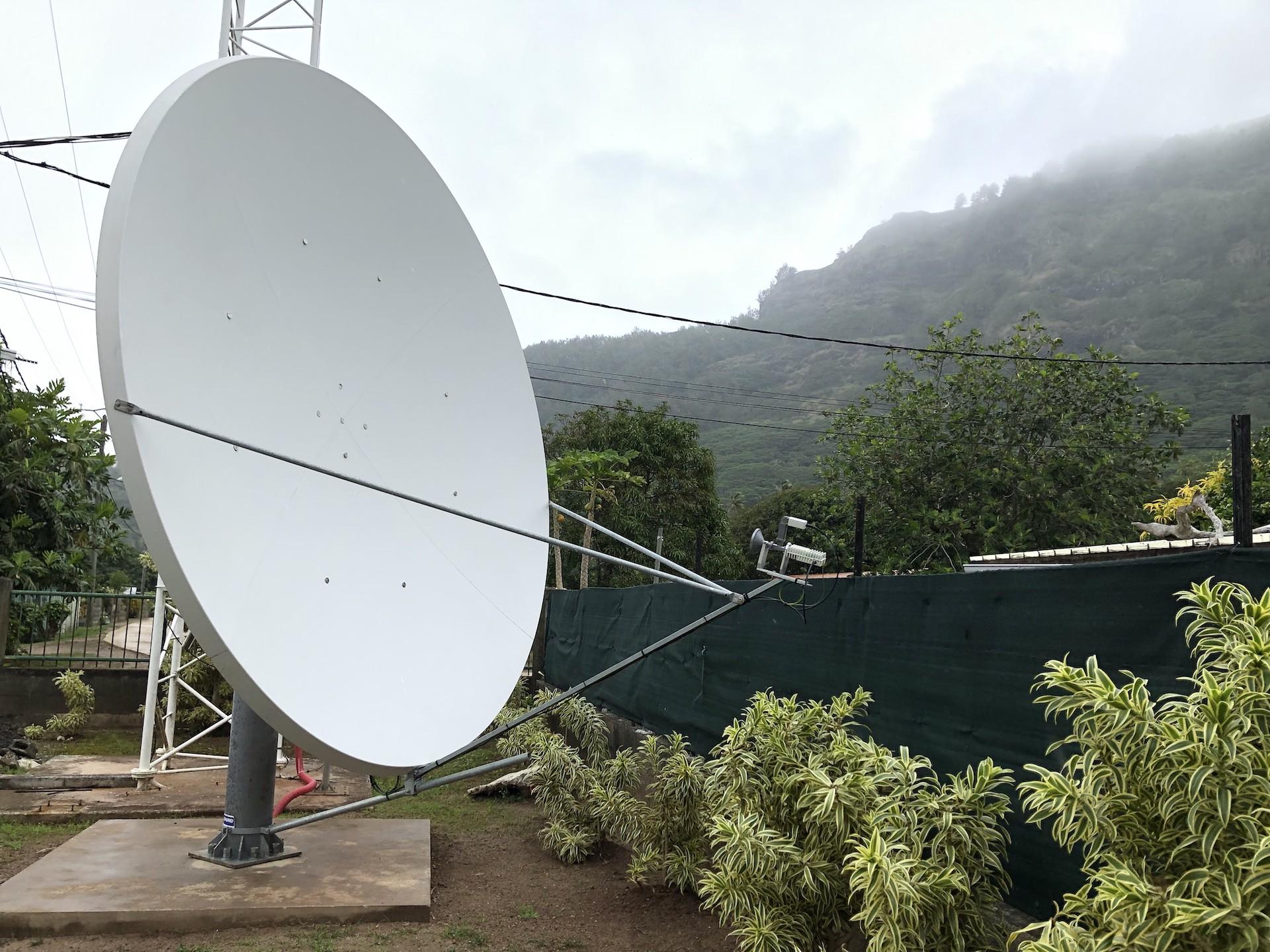 Les Gambier, oubliés du haut débit