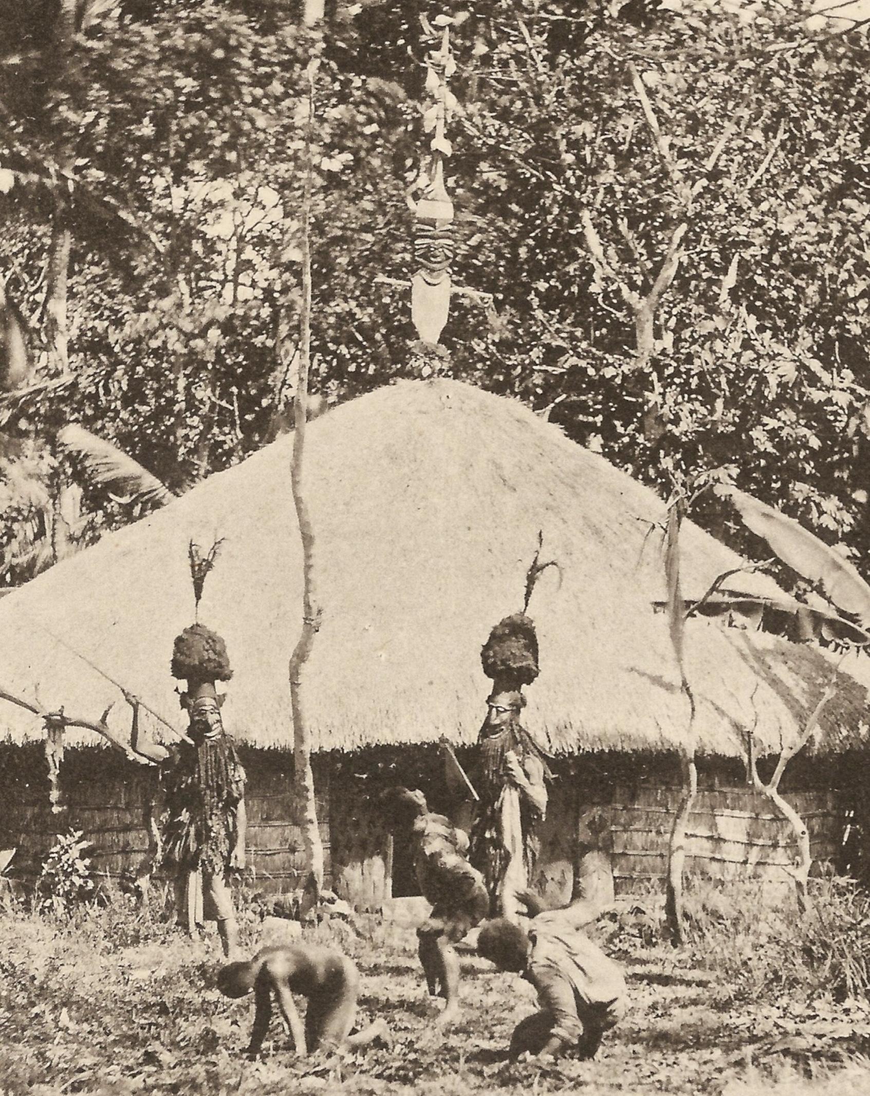 1843 : Mgr Douarre plante deux graines sur le Caillou