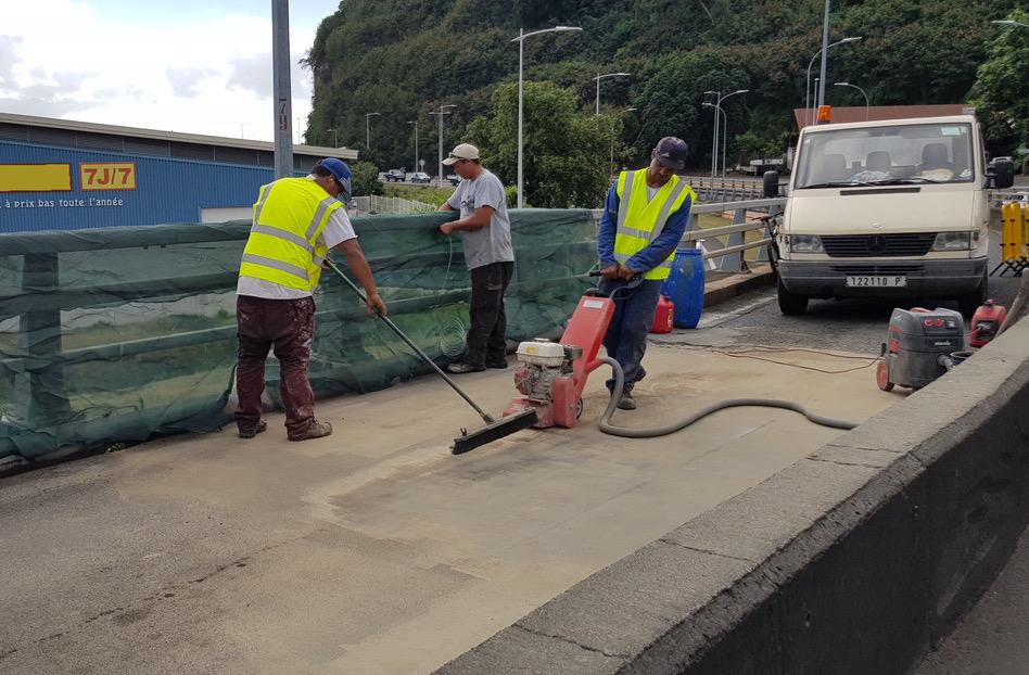 Fin des travaux du viaduc de la Punaruu ce week-end