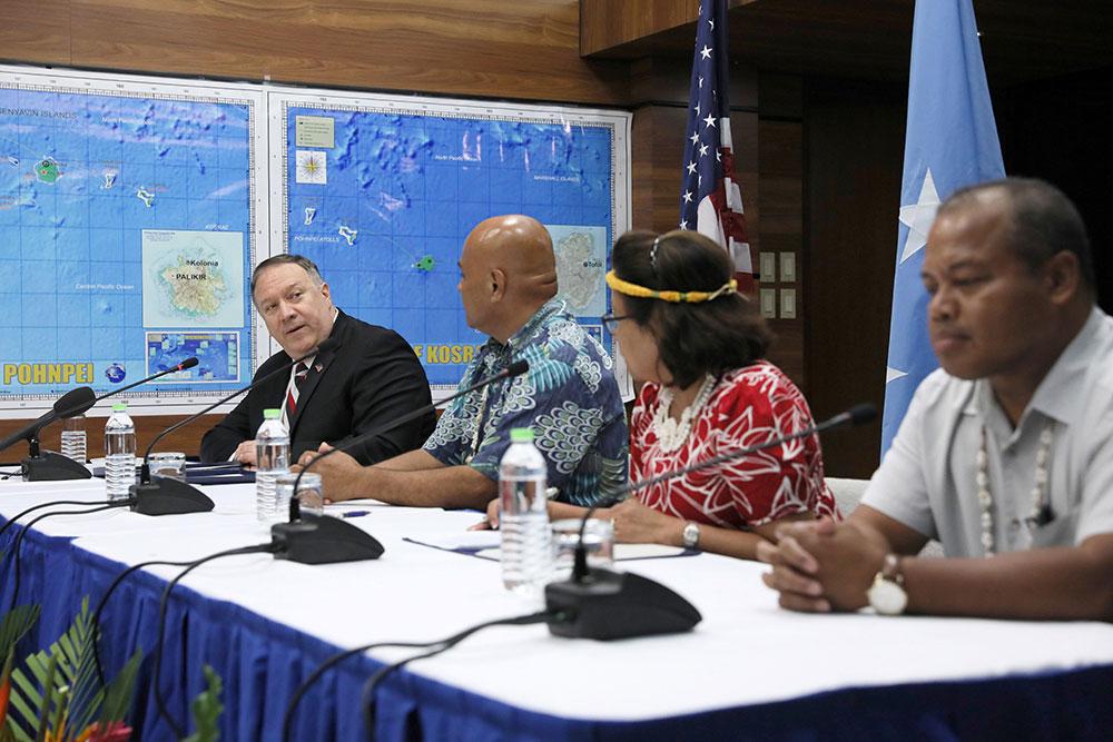 A Pohnpei, Pompeo affiche l'intérêt américain pour la Micronésie face à la Chine
