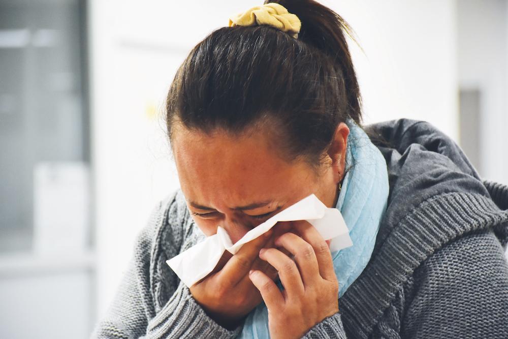 368 cas de grippe ont été déclarés par les médecins sentinelles entre le 15 et 28 juillet