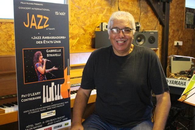 Deux ambassadeurs américains de jazz en concert le 15 août à Tahiti