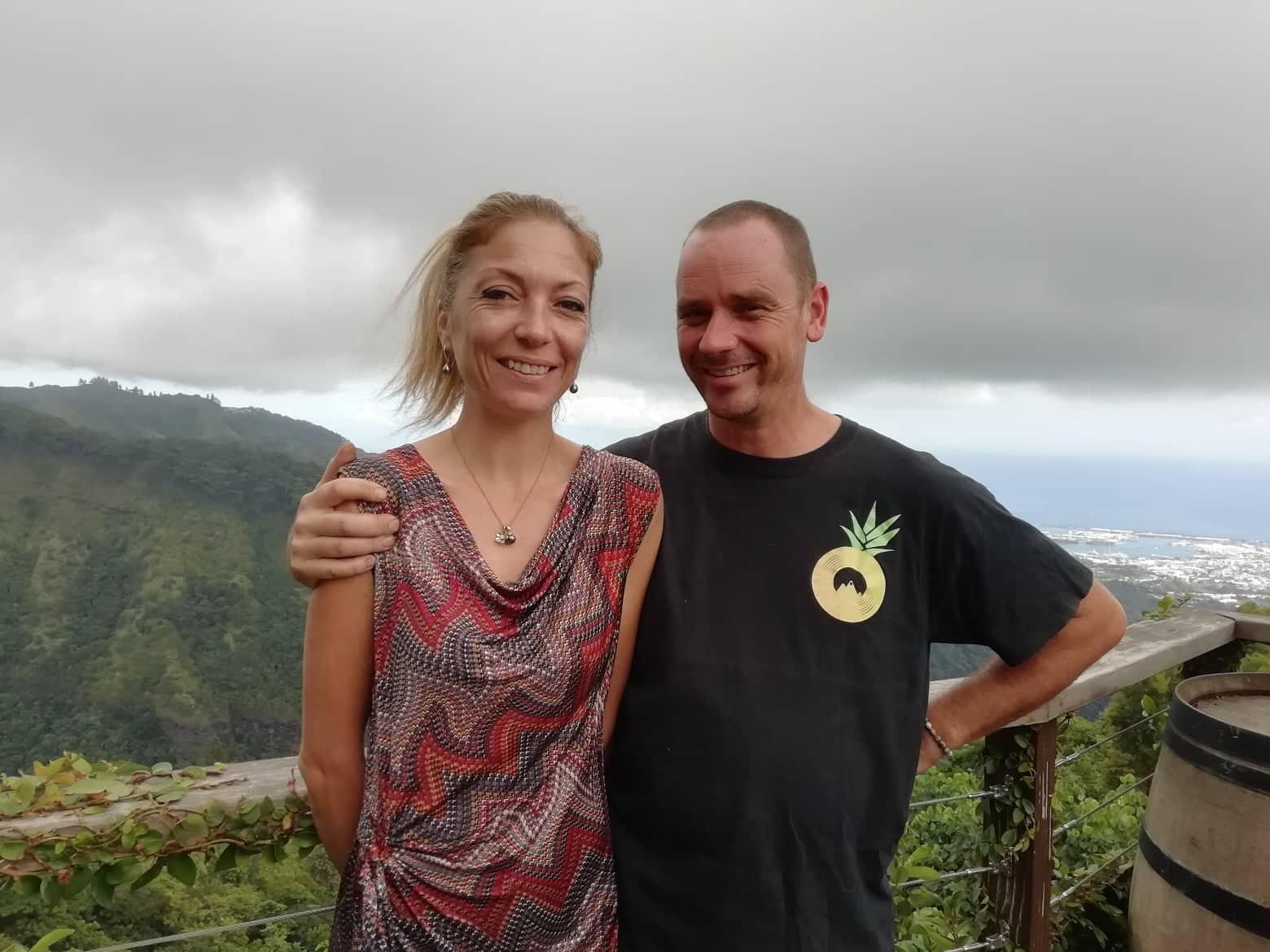 Julien et Cathy Derudder.