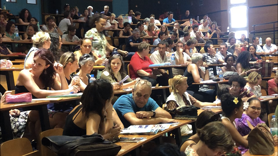 242 nouveaux profs font leur rentrée