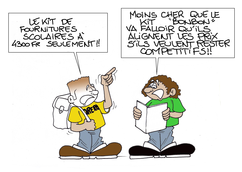"""""""Concurrence déloyale"""", par Munoz"""