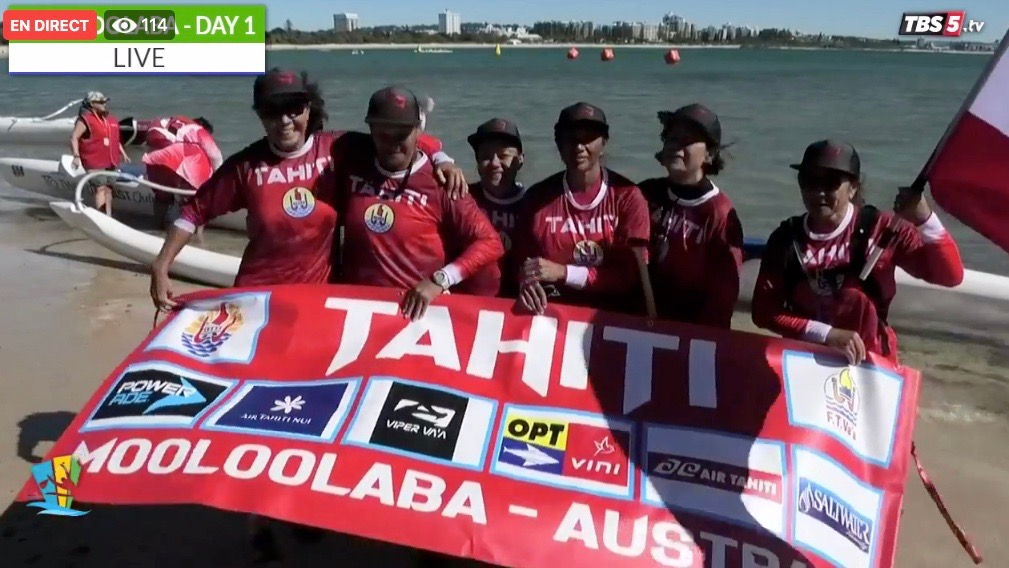 Tahiti commence la compétition avec une médaille d'argent et une médaille d'or