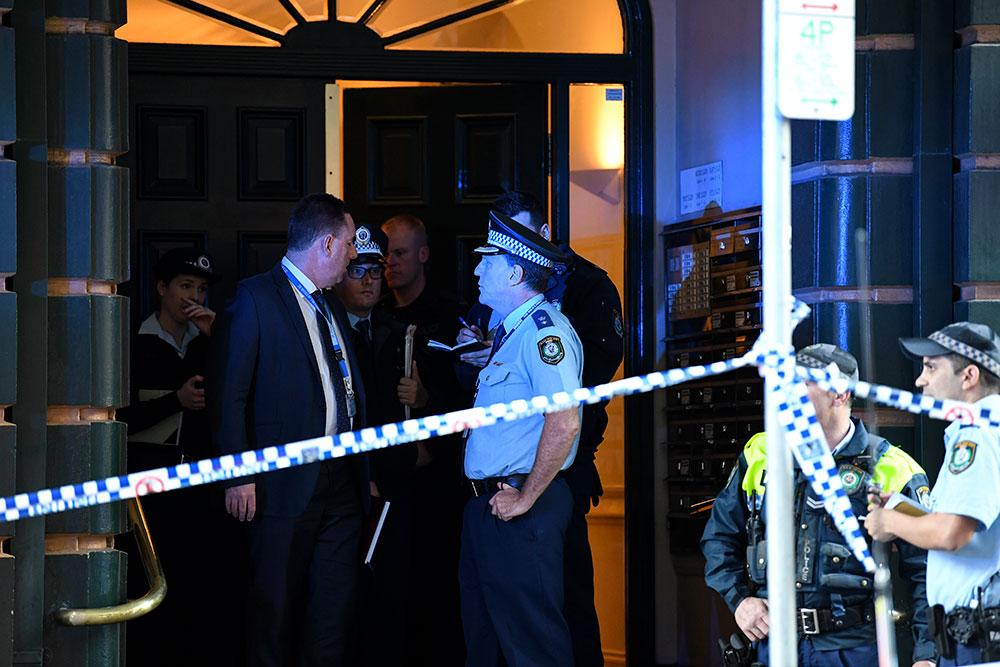L'auteur d'une attaque au couteau arrêté à Sydney