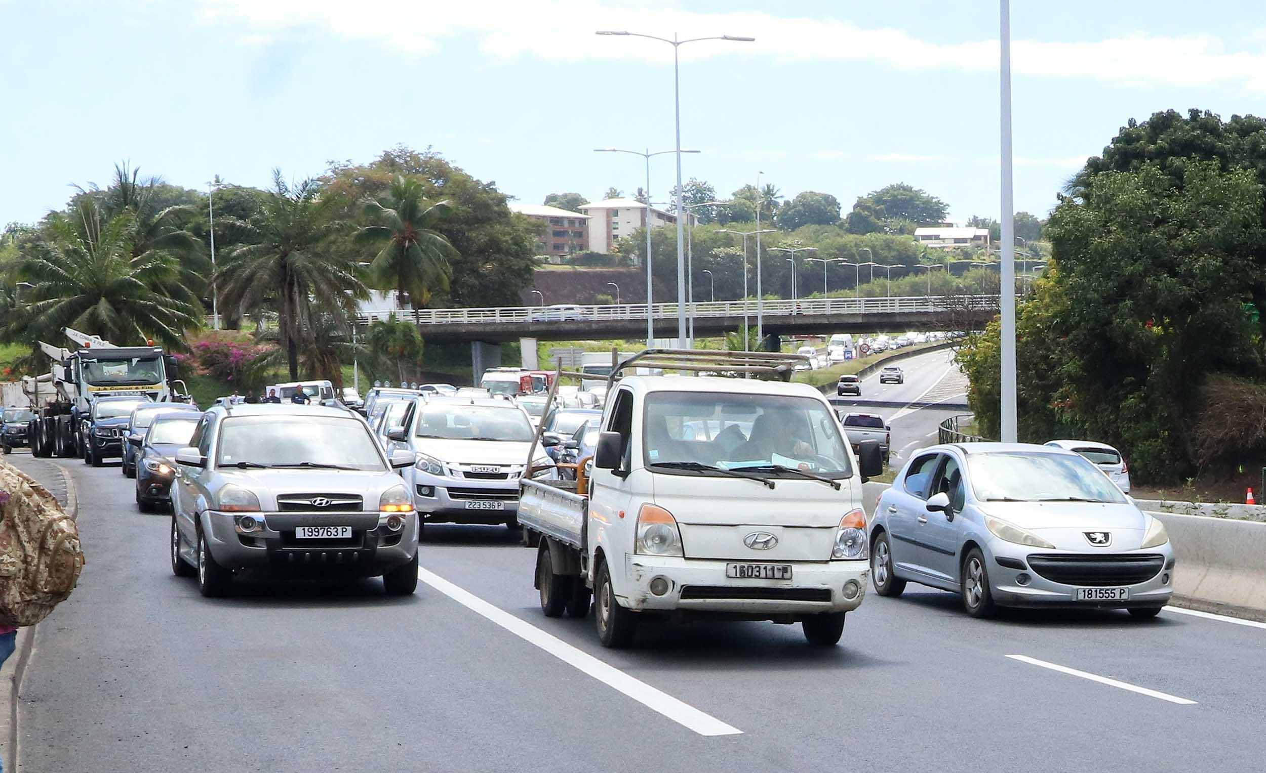 La 3e voie de Outumaoro ouverte à la circulation