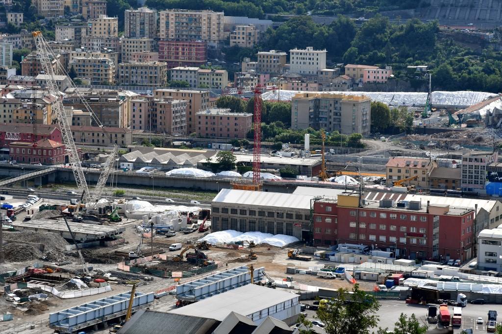 Messe et émotion, l'Italie a commémoré le drame de Gênes, un an après