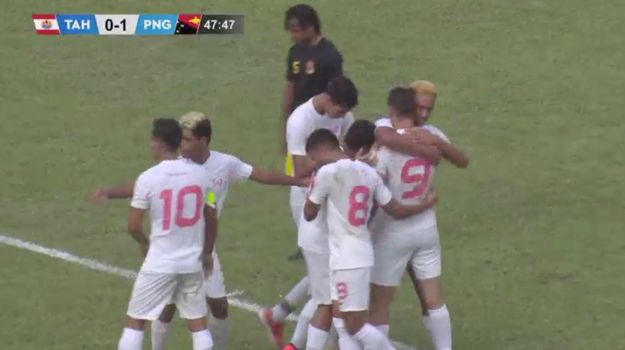 Les U17 battent la Papouasie 2-1