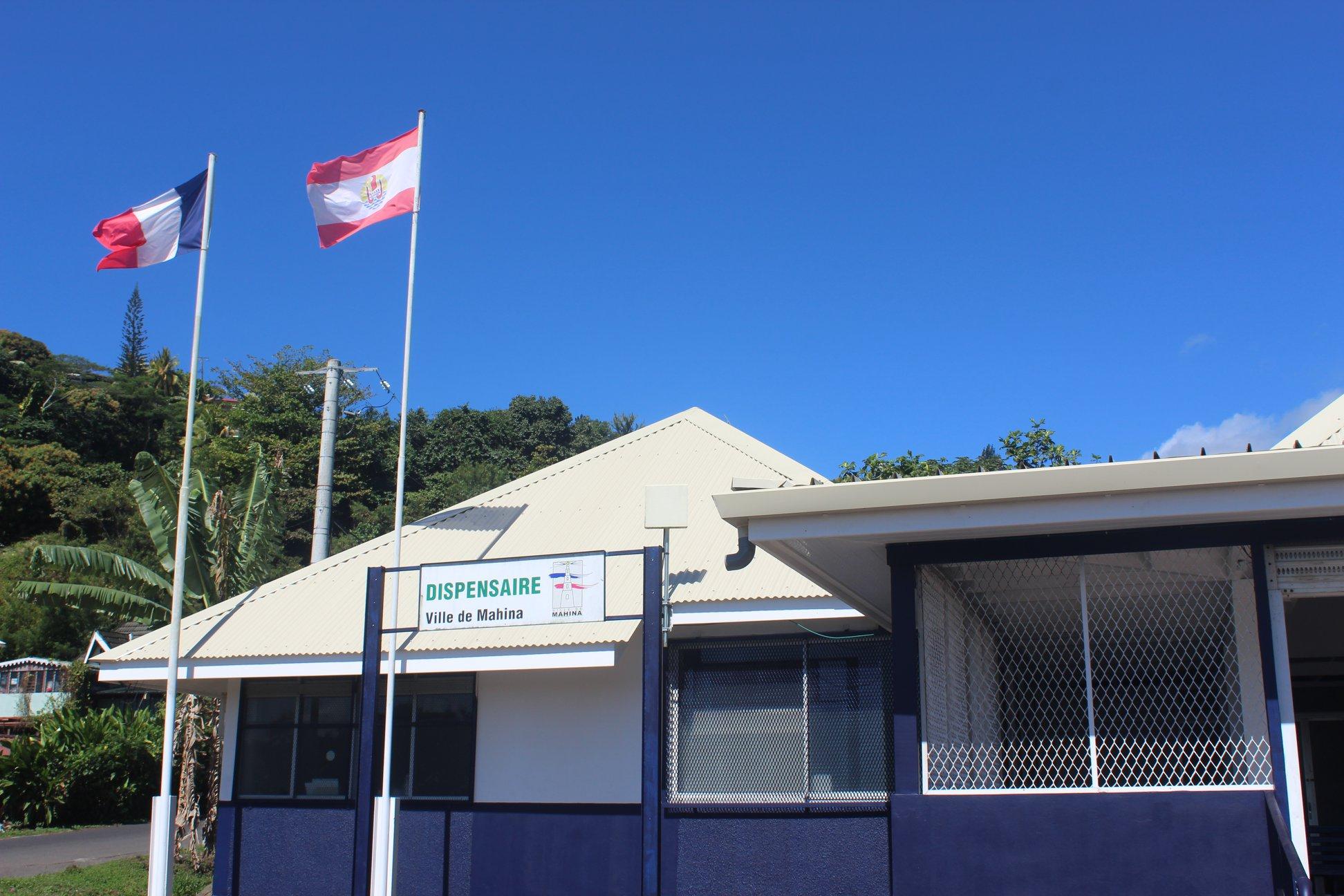 La commune a dépensé 10 millions de Fcfp pour la rénovation de son dispensaire.
