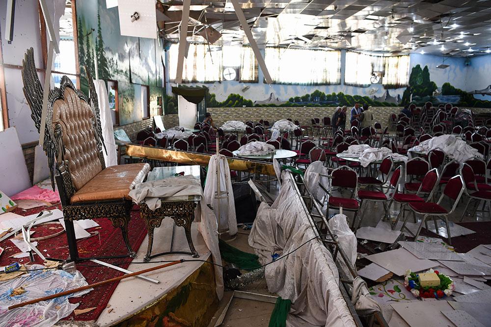 Afghanistan: un kamikaze de l'EI fait 63 morts lors d'un mariage à Kaboul