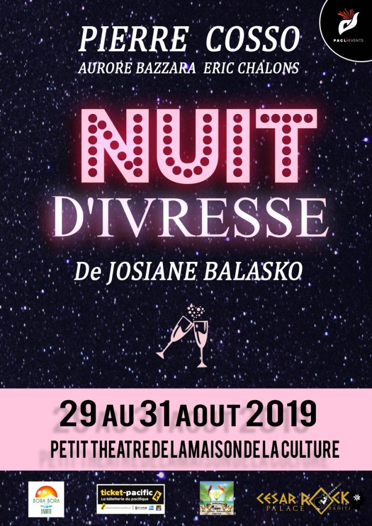"""""""Nuit d'ivresse"""" adaptée au Petit théâtre"""