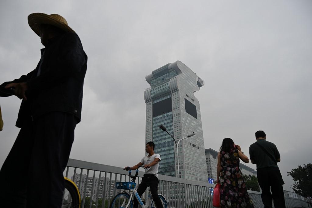 Chine: le gratte-ciel à tête de dragon vendu aux enchères sur internet