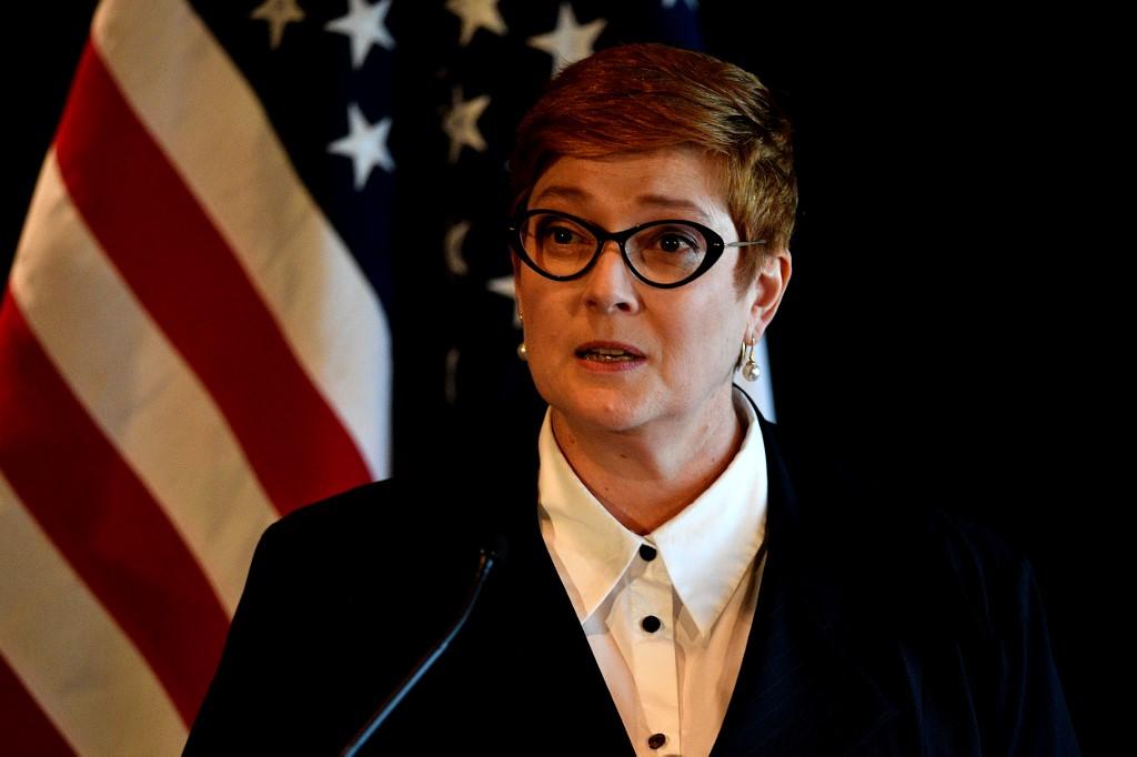 La ministre australienne des Affaires étrangères, Marise Payne.