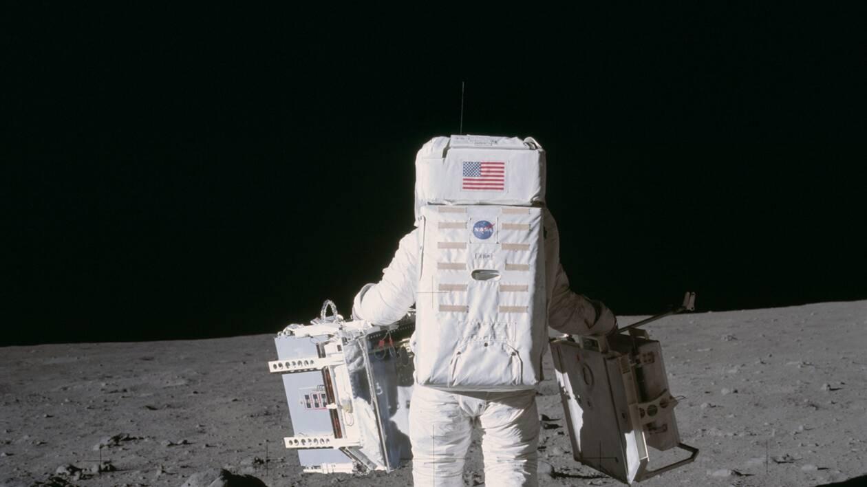 Page enfant : il y a 50 ans, ils ont marché sur la lune
