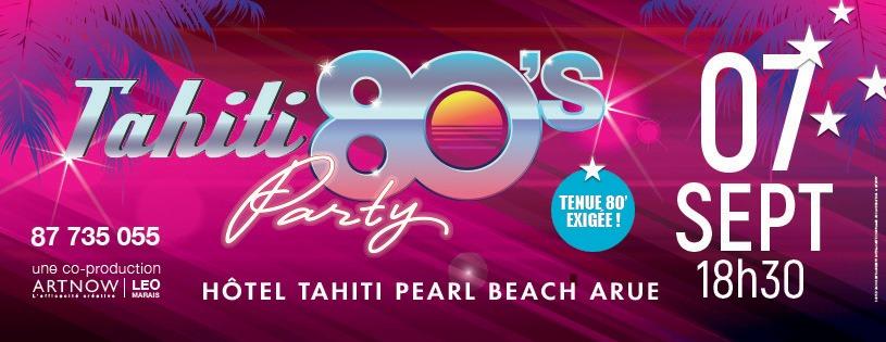 """Des artistes métropolitains """"référence"""" pour la Tahiti 80's Party"""