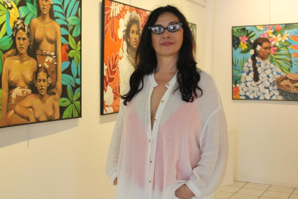 Galerie Winkler : Une série de tableaux uniques signés Pascale Taurua
