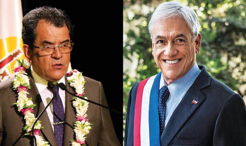 Fritch va parler câble avec le Président chilien