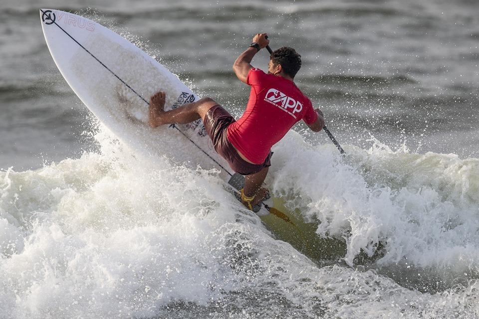 Poenaiki Raioha a su tirer son épingle du jeu même dans de petites vagues